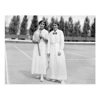 El tenis Champions, 1913 de las mujeres Postal