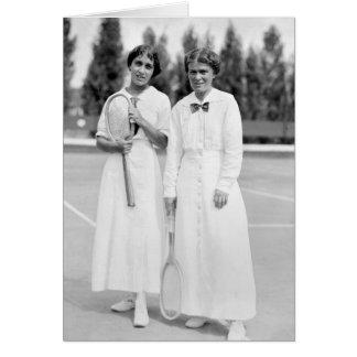 El tenis Champions, 1913 de las mujeres Tarjeta De Felicitación