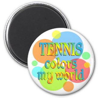 El tenis colorea mi mundo