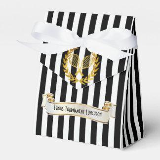 El tenis concede el alumerzo cajas para regalos
