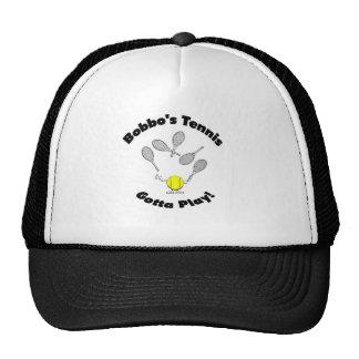 El tenis de Bobbo - el tipo gorra del camionero