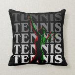El tenis de las mujeres de la almohada 1 blanco en