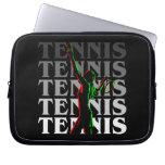 El tenis de las mujeres de la manga del ordenador  fundas portátiles