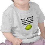 El tenis del juego tiene gusto de mi abuelo camiseta