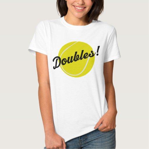 El tenis dobla el regalo playera