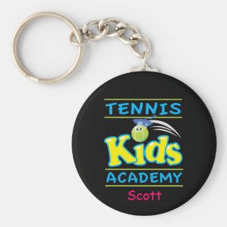 El tenis embroma el negro de Academy_Bouncee™_on Llavero