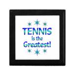 El tenis es el más grande caja de recuerdo