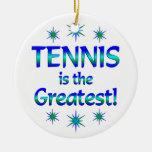 El tenis es el más grande ornamento para reyes magos