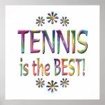 El tenis es el mejor impresiones