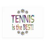 El tenis es el mejor postal