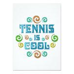 El tenis es fresco comunicados personalizados