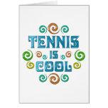 El tenis es fresco felicitaciones
