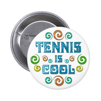 El tenis es fresco pin