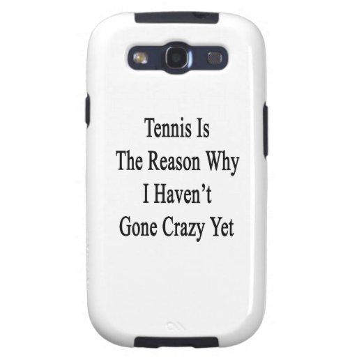 El tenis es la razón por la que no he ido loco tod galaxy SIII cárcasa