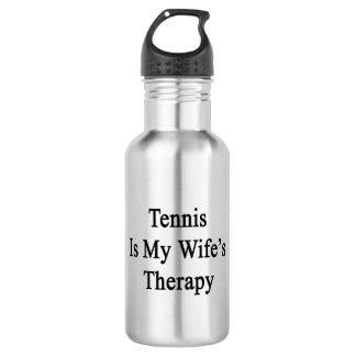 El tenis es la terapia de mi esposa
