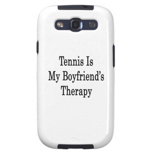 El tenis es la terapia de mi novio samsung galaxy s3 carcasa
