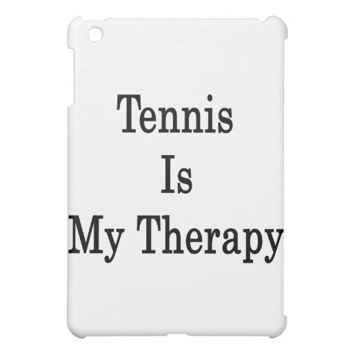 El tenis es mi terapia