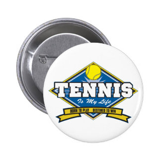 El tenis es mi vida pins