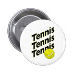 El tenis es mi vida pin