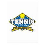 El tenis es mi vida postal