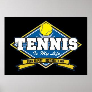 El tenis es mi vida póster
