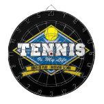 El tenis es mi vida tablero dardos