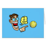 El tenis I golpearía eso Tarjetón