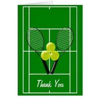 El tenis le agradece felicitacion