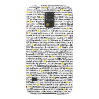 El tenis llama la caja del teléfono de Samsung Carcasa Galaxy S5