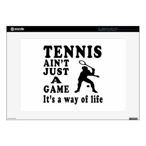 El tenis no es apenas un juego que es una manera d portátil skins