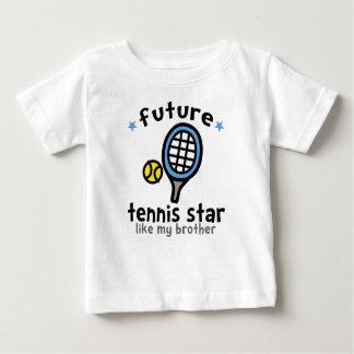 El tenis tiene gusto de Brother Playera De Bebé