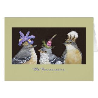 El Tennesseans (tarjeta del mockingbird)