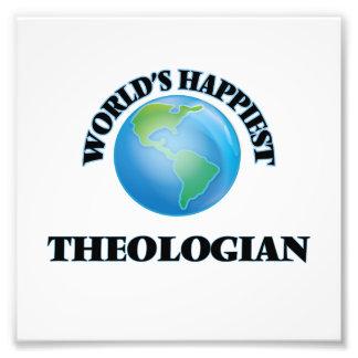 El teólogo más feliz del mundo cojinete