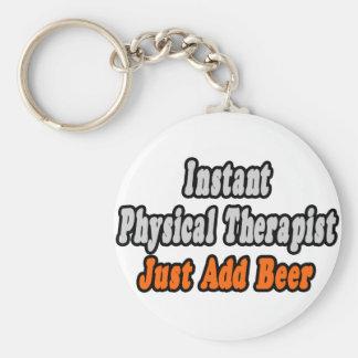 El terapeuta físico inmediato… apenas añade la cer llaveros personalizados