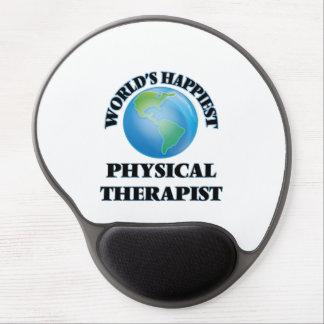 El terapeuta físico más feliz del mundo alfombrilla gel