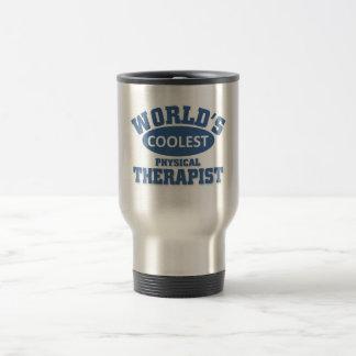 El terapeuta físico más fresco taza de viaje de acero inoxidable