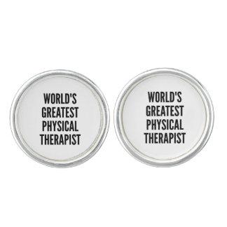 El terapeuta físico más grande de los mundos mancuernillas