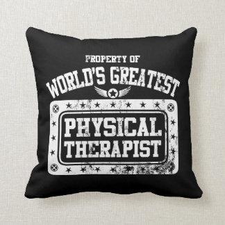 El terapeuta físico más grande del mundo cojines
