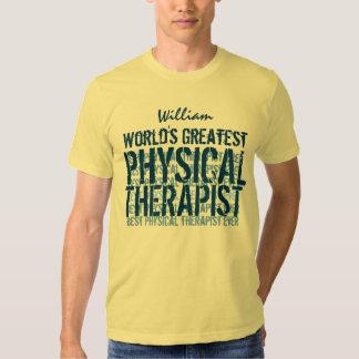 El terapeuta físico más grande TS015 del mundo Playera
