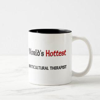 El terapeuta hortícola más caliente de los mundos taza