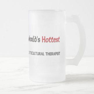 El terapeuta hortícola más caliente de los mundos tazas
