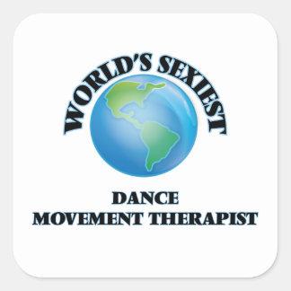 El terapeuta más atractivo del movimiento de la calcomanías cuadradas