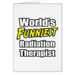 El terapeuta más divertido de la radiación del mun felicitacion