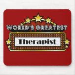 El terapeuta más grande del mundo alfombrilla de ratones
