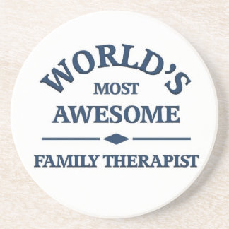El terapeuta más impresionante de la familia del m posavasos diseño