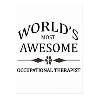 El terapeuta más profesional del mundo tarjetas postales