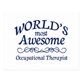 El terapeuta profesional más impresionante del mun tarjetas postales