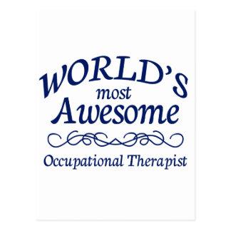 El terapeuta profesional más impresionante del mun postal