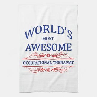 El terapeuta profesional más impresionante del mun toallas de cocina