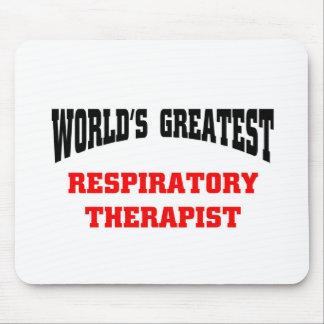 El terapeuta respiratorio más grande del mundo alfombrilla de ratones